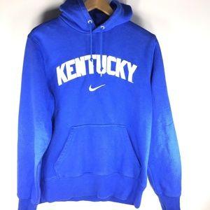 Nike Kentucky Royal Blue Pullover Hoodie Sweater M